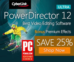 25% off cyberlink powerdirector 12 coupon