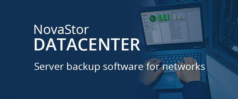 NovaStor Datacenter screenshot