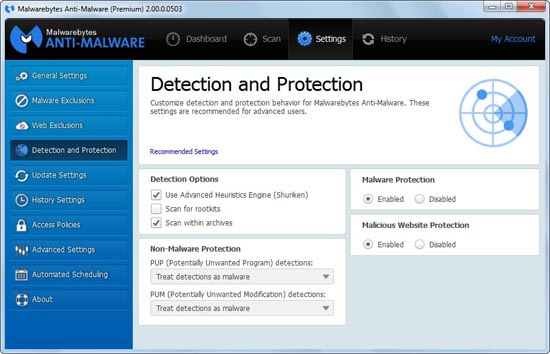 malwarebytes premium malware detection and protection