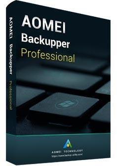 AOMEI Backupper Professional box