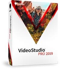 Corel VideoStudio Pro box