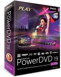 CyberLink PowerDVD 19 Ultra box