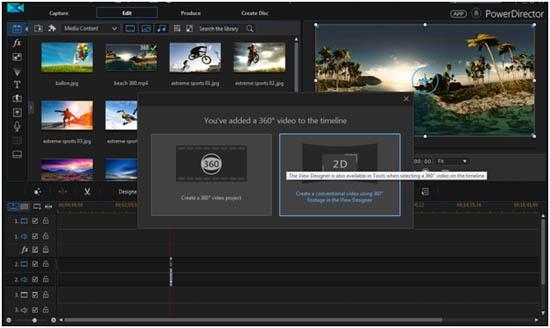 CyberLink PowerDirector Video Editing 360