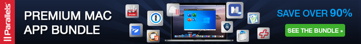Parallels Premium MAC App Bundle banner