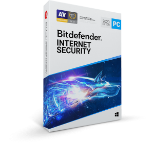 BitDefender Internet Security 2020 box