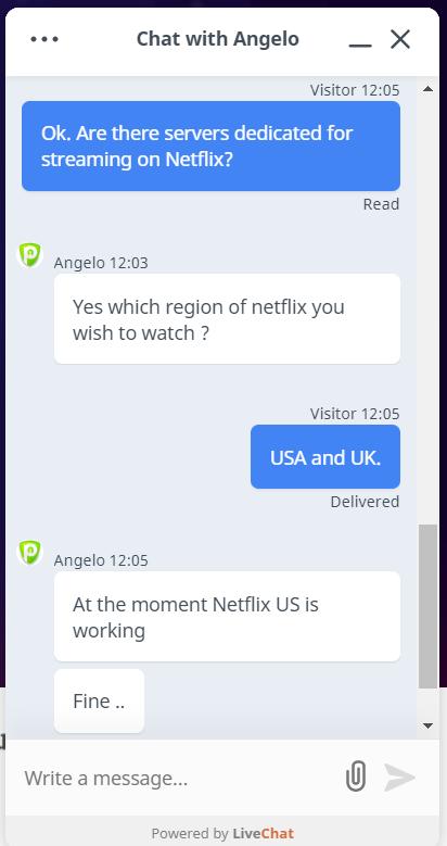 PureVPN chat 6