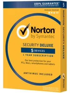 Norton 360 Deluxe box