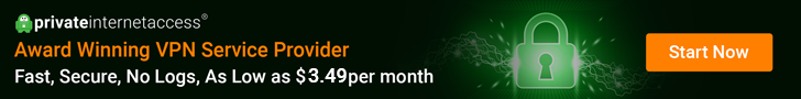 private internet access banner award winning vpn