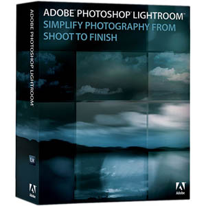 Adobe Photoshop Lightroom box