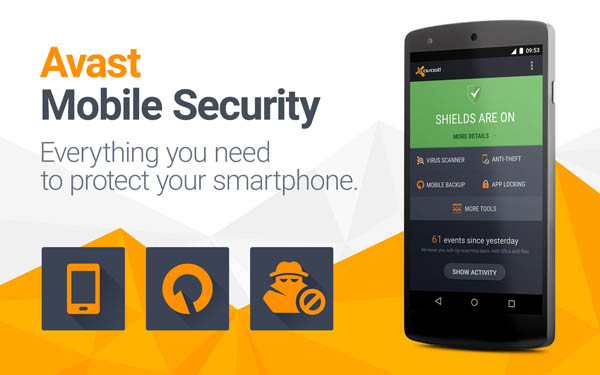Avast Mobile Security Free for Android