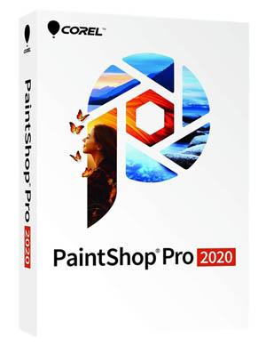 Corel PainthShop Pro 2020 box