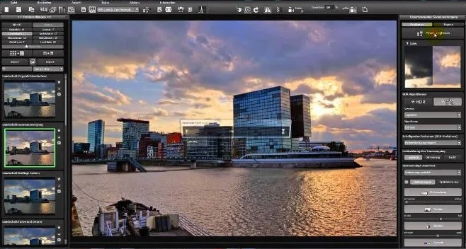 Franzis HDR Projects screenshot 2