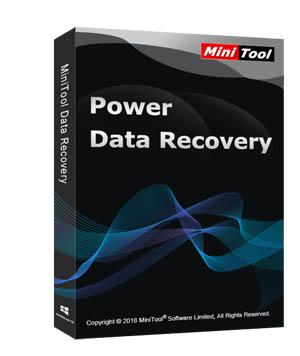Minitool Power Data Recovery retail box
