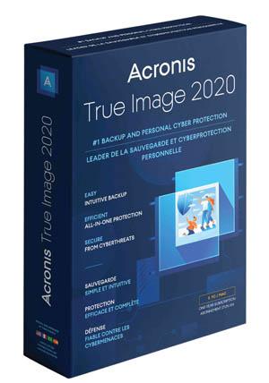 Acronis True Image 2020 box