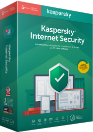 Kaspersky Internet Security 2020 box