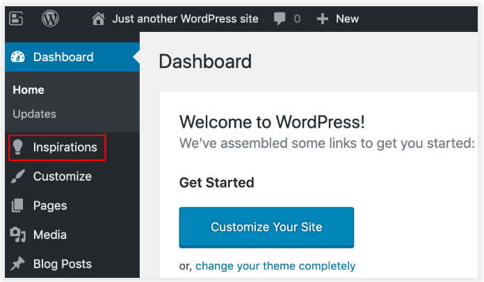 DreamHost WordPress tutorial step 9
