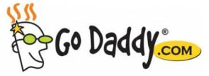 GoDaddy logo banner