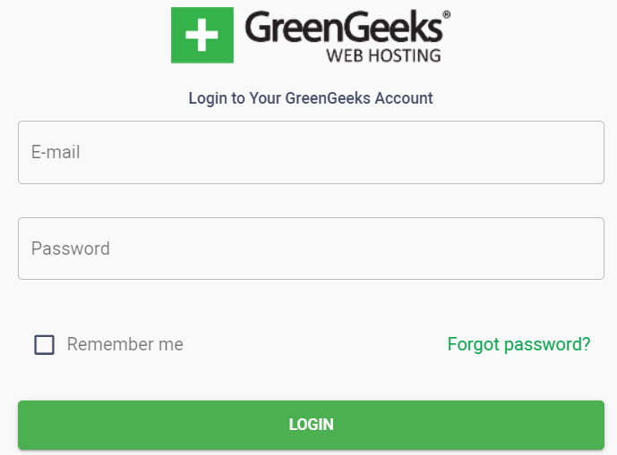 GreenGeeks tutorial step 5