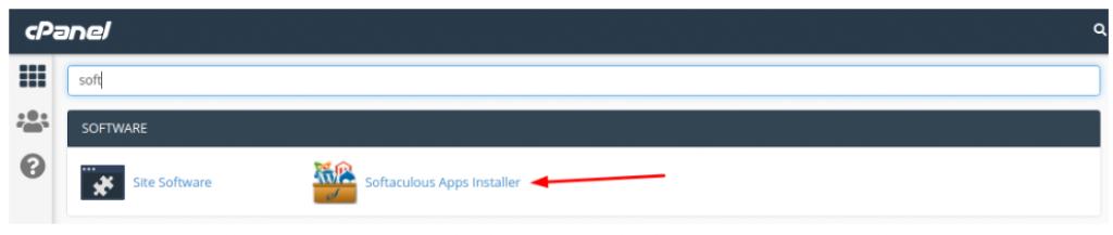 InterServer tutorial Softaculous app installer