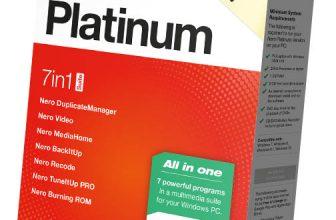 Nero Platinum Suite 2021 box