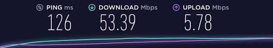 RusVPN speed test prague server